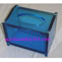 Buy cheap Practical home & hotel decoration acrylic tissue box produced from China manufacturer from Wholesalers