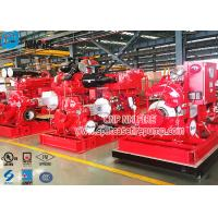 Buy cheap Double Suction Diesel Engine Fire Pump Set With UL Listed , 1250gpm Flow from wholesalers