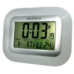 China Radio controlled LCD clock on sale