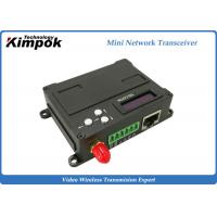 Buy cheap Full Duplex Wireless Ethernet Video Transceiver , RJ45 COFDM Transmitter Receiver from Wholesalers
