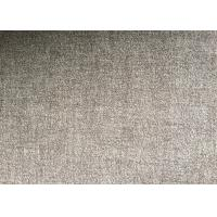Quality Grey or Coffee Warm Soft Woven Wool Fabric For mens coat , plain style wholesale