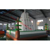China inflatable climbing wall inflatable rock climbing wall climbing wall inflatable climbing on sale