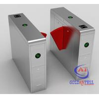 Quality 50w Indoor Outdoor Turnstile Web Based IP Biometric Acess Automated Security Gates for sale