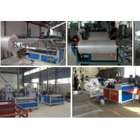 China High Efficiency Band Strapping Machine / PE Air Cushion Film Production Line on sale