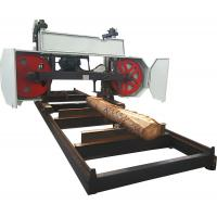 Buy cheap wood cutting machine heavy duty large size Horizontal Band Saw Mills used from wholesalers