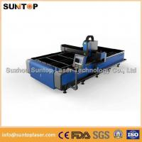 Buy cheap Stainless steel and mild steel CNC fiber laser cutting machine with laser power 1000W from wholesalers