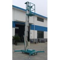 Buy cheap Sole Mast Aluminum Aerial Work Platform 125Kg Load and 8 Meters from Wholesalers