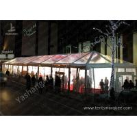 Buy cheap Clear Top / Wall Cover Hard Aluminum Alloy Frame Wedding Tent Water Resistant from Wholesalers