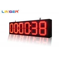 Buy cheap Indoor and Outdoor Ultra Thin Wall Led Digital Clock for Bus Station Train Station from Wholesalers