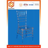 Buy cheap Polycarbonate Resin Clear Elegant Chiavari Chairs Fireproof For Party Events from wholesalers