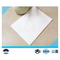 Non Woven Geotextile Drainage Fabric Flexible For Power Plant PET 250GSM