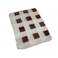 Different Color Waterproof Baby Blanket For Picnic / Home 100%Polyester