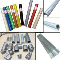 Buy cheap Assemble Pipe Rack Product Parts Plastic Coated Pipe and Aluminum round pipe and joint System from wholesalers