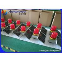 Buy cheap Low Intensity Aeronautical Obstruction Light Solar Powered For Marking Tower from wholesalers