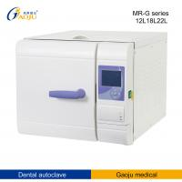 China MR-22L-G 2.4 KW, 220V / 50HZ Dental Autoclave 22L with Top Water Tank CE, ISO on sale