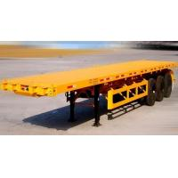 Buy cheap Export Vitenam 3 axles 40 ton 20ft/40ft frame skeleton container semi trailer chassis with twist locks for sale from wholesalers