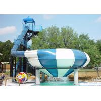 Buy cheap Large Space Bowl Water Slide / Water Park Slide For Water Park Games from wholesalers