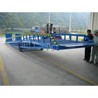 Buy cheap Hydraulic Loading Dock Hydraulic Dock Leveler , Ramp with Working Height 1.2 - 1.8 m from Wholesalers