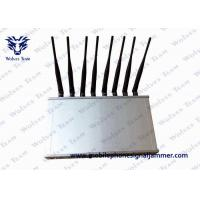 Buy cheap 12 Band Desktop Phone Signal Blocker Jammer Compatible With ICNIRP Standards from Wholesalers