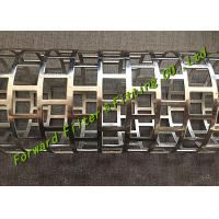 Buy cheap New Technogy One-Time Forming Mould For Square Hole Perforated Tube SS304 / 316 Material from Wholesalers