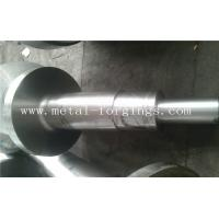 Buy cheap 4140 34CrNiMo6 4340 Alloy Steel Metal Forgings Shaft Blank Rough Machined For Wind Power Industry from Wholesalers