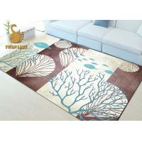 Quality Fashionable Non Skid Backing Area Rugs , Large Living Room Rugs Waterproof wholesale