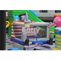 China Outdoor / Indoor Pirate Kids Inflatable Bouncer Jumping Houses Fade Proof on sale