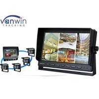 Quality Rack Mount 10 Inch HD Car TFT LCD On-board Monitor Display with Quad Pictures wholesale