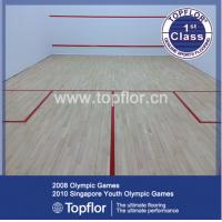 Buy cheap Pvc vinyl squash floor racquetball floor for indoor squash court from Wholesalers