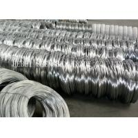 Low Carbon Steel Electro Galvanized Wire , 18 Gauge Galvanized Binding Wire
