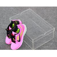 Buy cheap Woman Shoes Storage Small Clear Acrylic Shoe Box Without Logo from Wholesalers