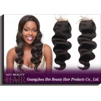 """Buy cheap Brazilian Lace Top Closure Natural Colored Curly Human Hair 10"""" - 18"""" Length from Wholesalers"""