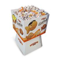 Buy cheap Display Stand Dump Bin Displays Rack , Red Colors Printing Sweet Baby Products Paper from Wholesalers
