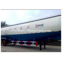 Buy cheap Customized v type dry bulk cement trailer with 3 axles 45cbm capacity with warranty from Wholesalers