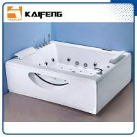 Buy cheap T Shape Inlet Electric Jacuzzi Whirlpool Bath Tub With Air Bubble Water Jets from Wholesalers