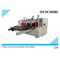 Buy cheap Automatic Slitter Scorer machine For Carton Creasing / Electrical Thin Blade Slitting Machine from Wholesalers