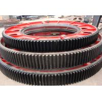 Buy cheap big gear wheel, Large Casting Spur Gear Wheel for Ball Mill from wholesalers