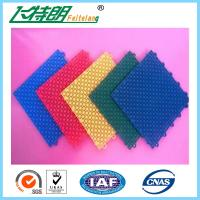 Buy cheap Basketball Court Rubber Interlocking Flooring 2500N 250x250x13 MM 350g / pc from wholesalers