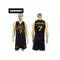 Buy cheap Cheap Custom Dry Fit Lycra Basketball Uniforms For Adults And Kids from Wholesalers