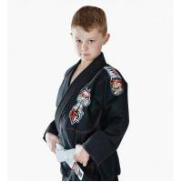 Buy cheap Custom Black BJJ Gi Kimono Martial Arts Suit / Karate Clothes For Kids from Wholesalers
