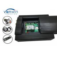 Quality 3g Video Car Camera Alarm System HDD Mobile DVR With G-Shock Geofence Panic Button wholesale