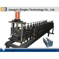 Buy cheap Hydraulic Cutting Metal Steel Shop Slat Guides Shutter Door Roll Forming Machine from wholesalers