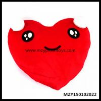 Buy cheap 45*38cm Stock High Quality Heart Shape Plush Pillow Plush Cushions from Wholesalers