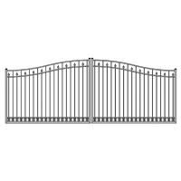 China Aluminum gate and fence Aluminum driveway gate door metal gate on sale