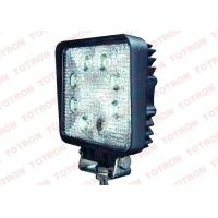 Buy cheap Square 24W LED Truck Work Lights12V ATV Lights with Stainless Steel Bracket PC Lens from Wholesalers