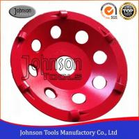 Buy cheap PCD Type Diamond Grinding Wheels For Concrete Grinding 4/1 round PCD SGS from Wholesalers