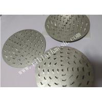 Buy cheap 1mm or 1.2mm Thickness Anti Split Plates   Round Truss Nail Plates from wholesalers