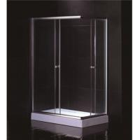 Buy cheap Free Standing 1200 X 800 Rectangular Shower Enclosure With Tray Center Drain from wholesalers
