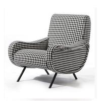 Buy cheap Classic Retro Modern Upholstered Sofa Living Room Fabric Armchair HY-C357 from Wholesalers