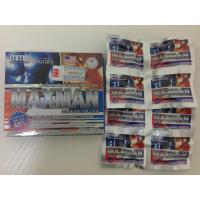 Buy cheap Natural Herb MMC Maxman Male Enhancement Capsules / Pill Nutritional Supplement from Wholesalers